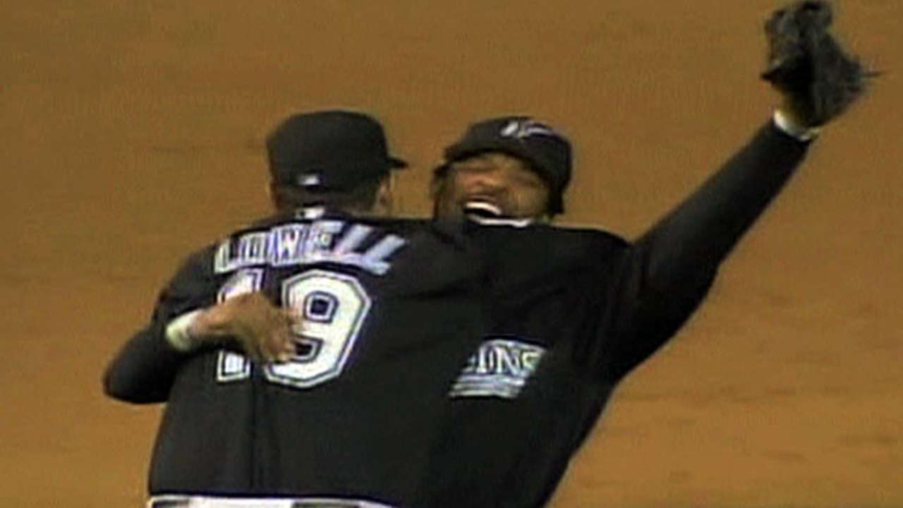Marlins win 2003 NL Pennant