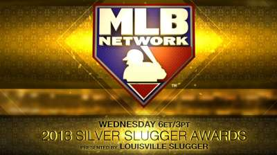 Silver Slugger Awards set to be handed out