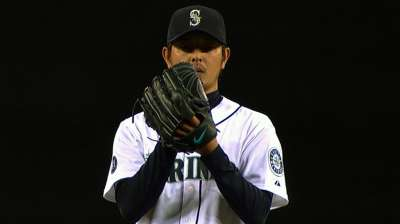 With breakout '13, Iwakuma a finalist for AL Cy Young
