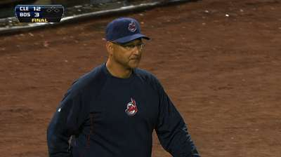 Francona finalist for BBWAA's top AL skipper honor