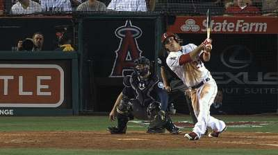 Trout earns second straight Silver Slugger Award