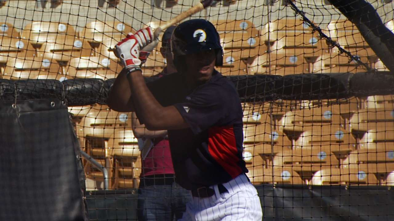 Star on the rise, Buxton knows he's not quite ready