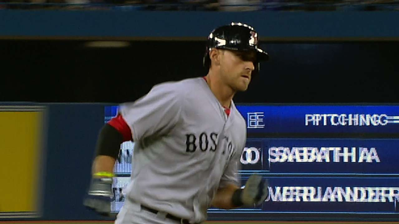 mlb notebook three times the fun for will middlebrooks mlb com mlb notebook middlebrooks powers up