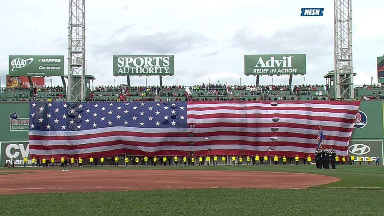 Emotional Fenway Park ceremony was pitch-perfect