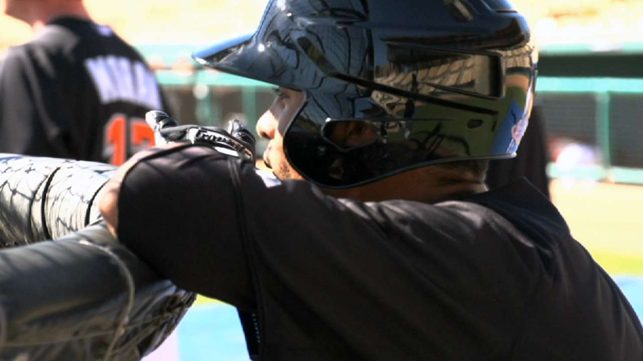Johnson speeding toward Major League opportunity