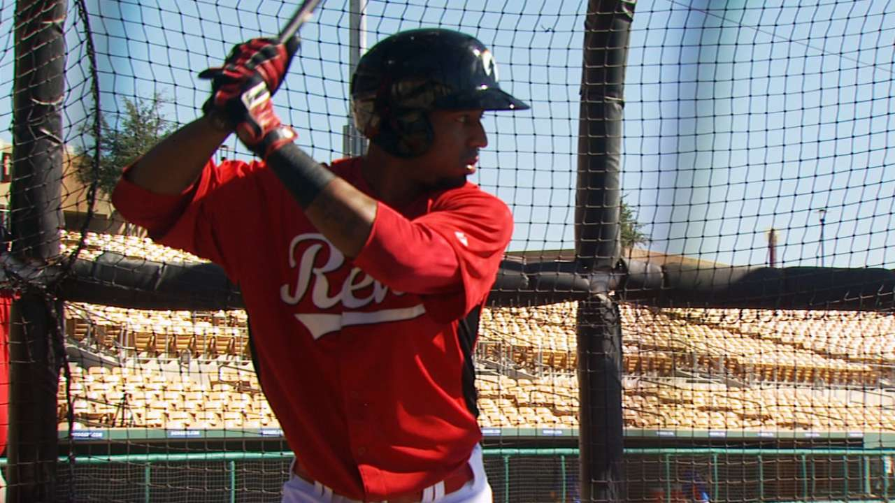 Reds like progress of prospect Rodriguez