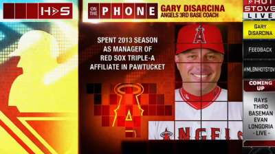 Former Angel DiSarcina joins club as third-base coach