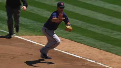Mauer to shift permanently to first base