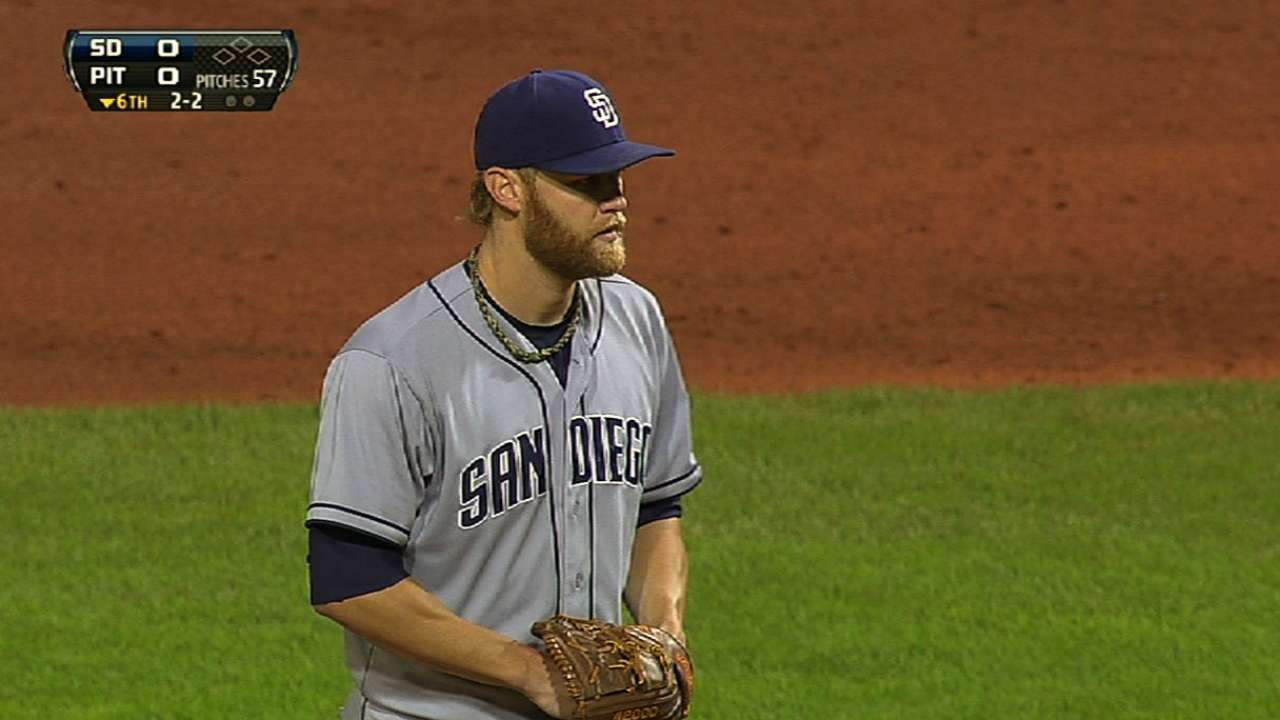 Cashner's one-hit shutout