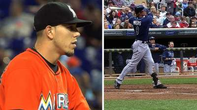 Rookies Myers, Fernandez make Florida proud