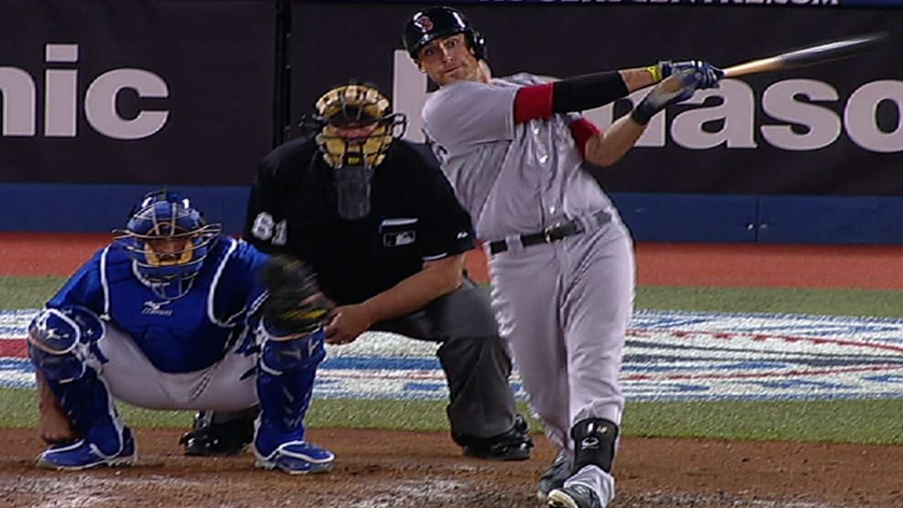 Middlebrooks' three homers send Sox home happy