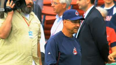 Francona wins AL Manager of the Year Award