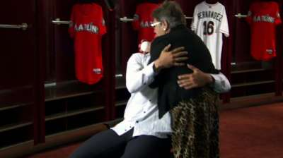 Fernandez thankful for reunion with his grandmother