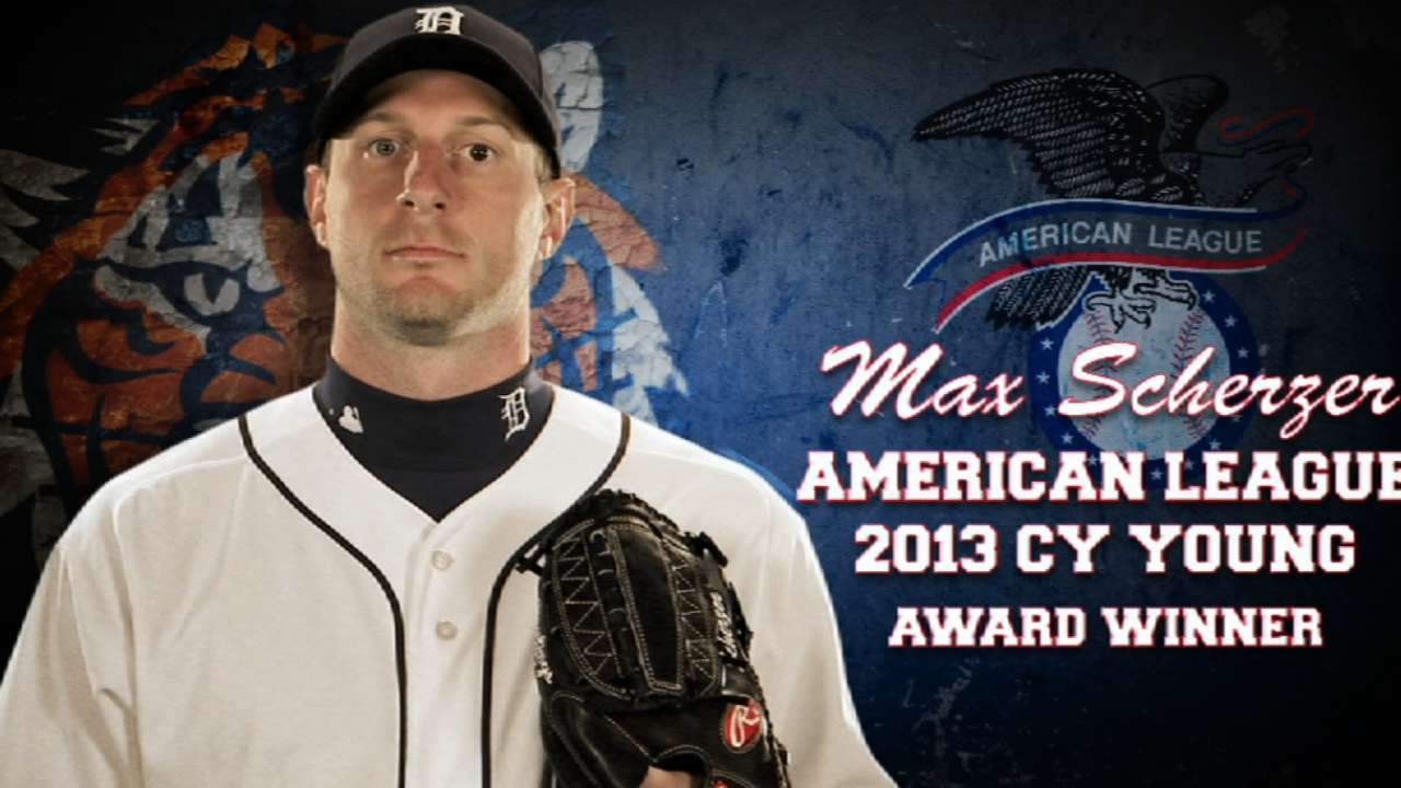 Scherzer among six Tigers to file for arbitration