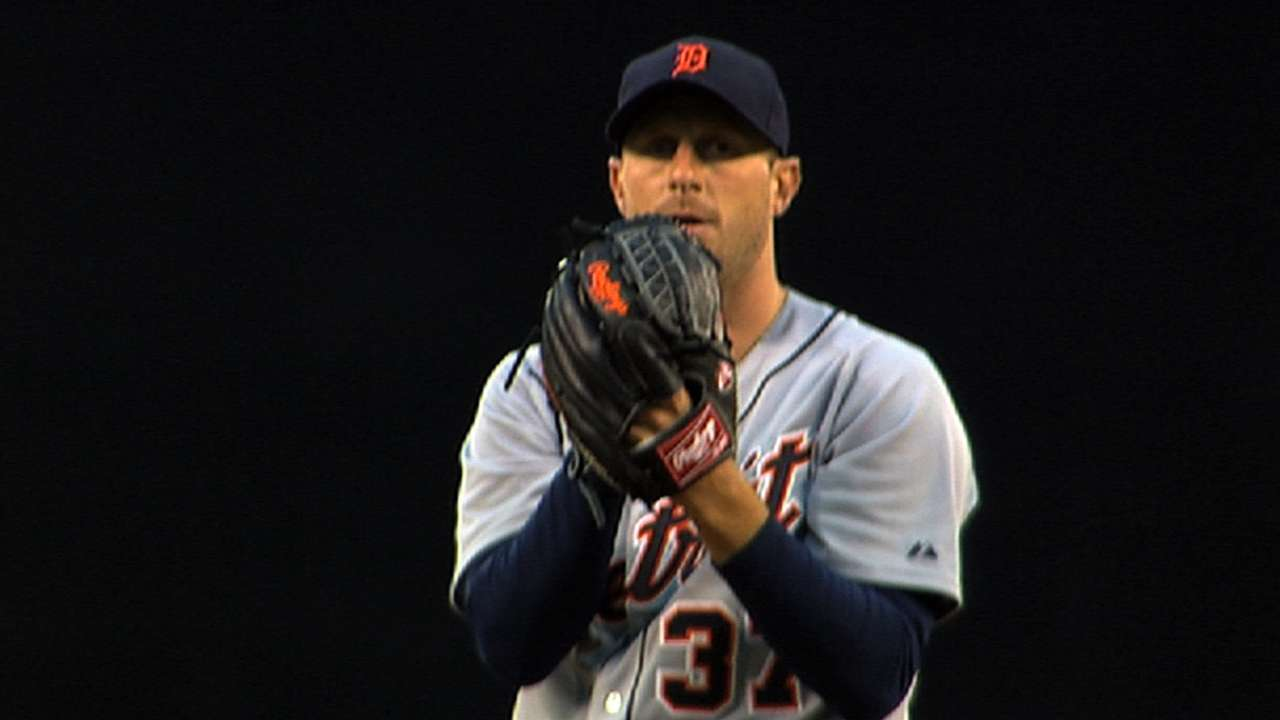 Tigers' next big move may be locking up Scherzer
