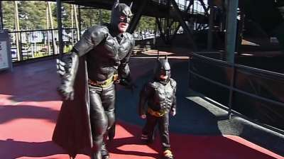 Batkid to the rescue: Child's wish comes true
