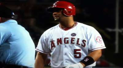 Pujols completely healthy, happy with winter progress