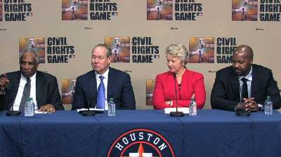 Astros to host Civil Rights Game next year