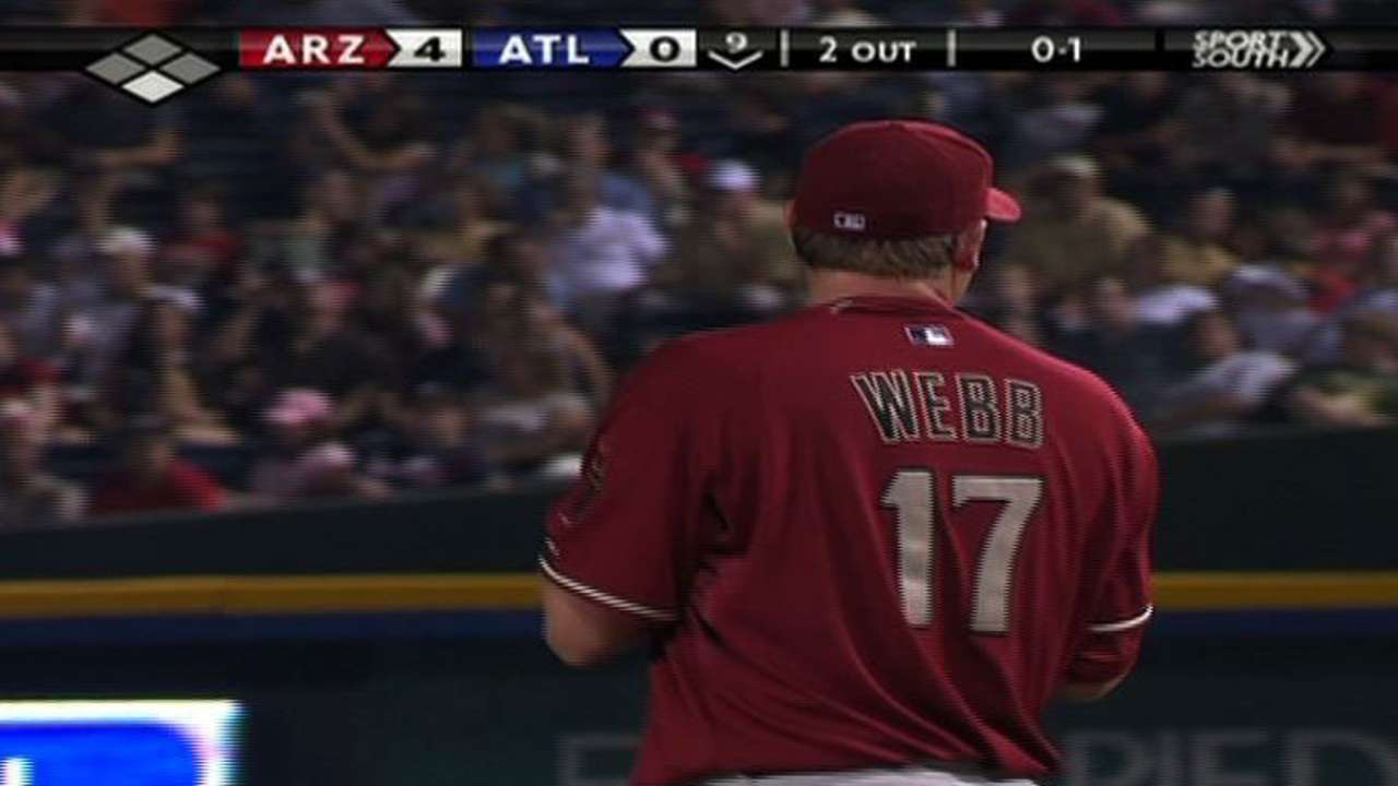 Former NL Cy Young Award winner Webb retires