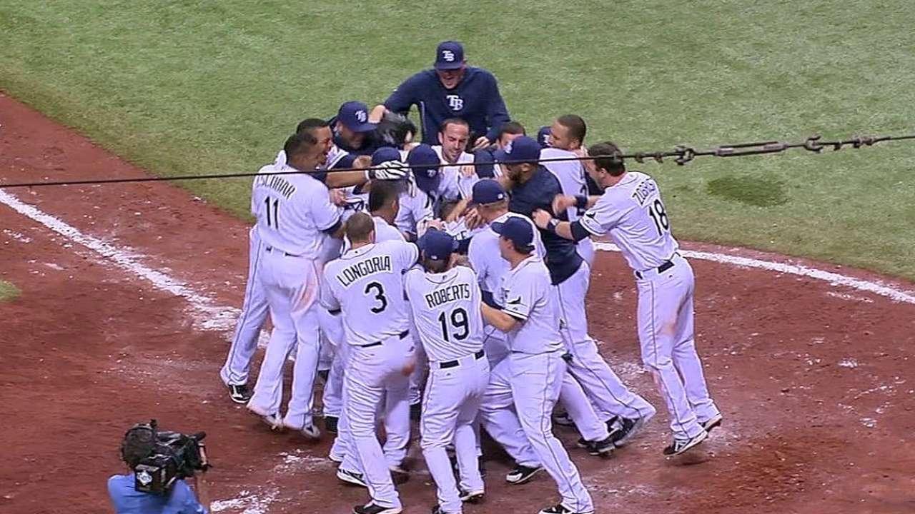 Joyce decide triunfo de Rays vs. Orioles con jonrón