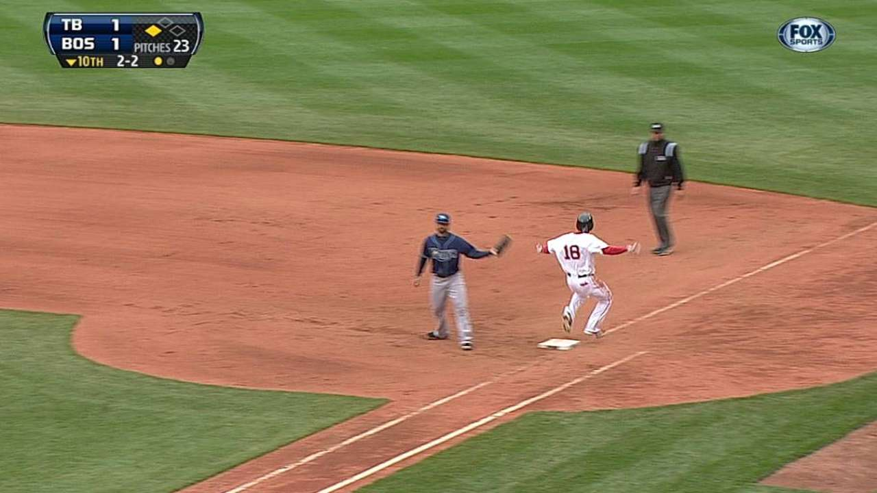 Ex-Rays outfielder Gomes marvels at Maddon