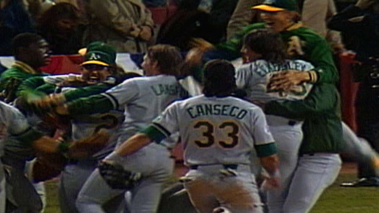 A's have rich postseason history from Philadelphia to Oakland