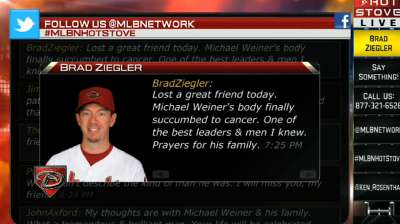 Ziegler reflects on passing of Weiner