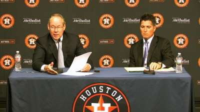 Crane optimistic Astros will be better in 2014