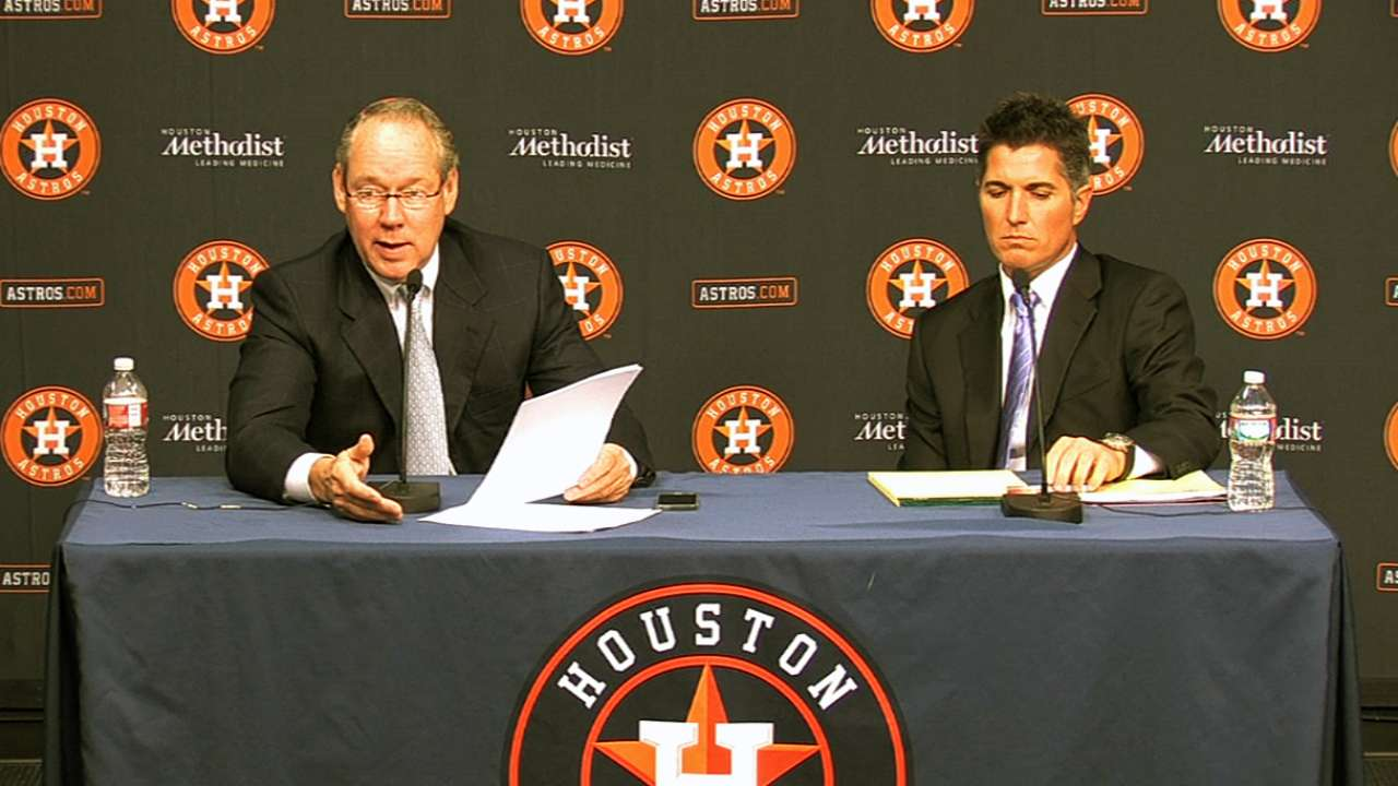 Astros seeking resolution for TV rights