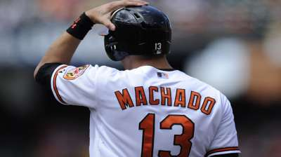 O's confident Machado will be ready for Opening Day