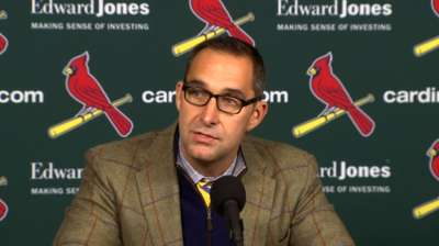 Mozeliak likely finished with offseason shopping