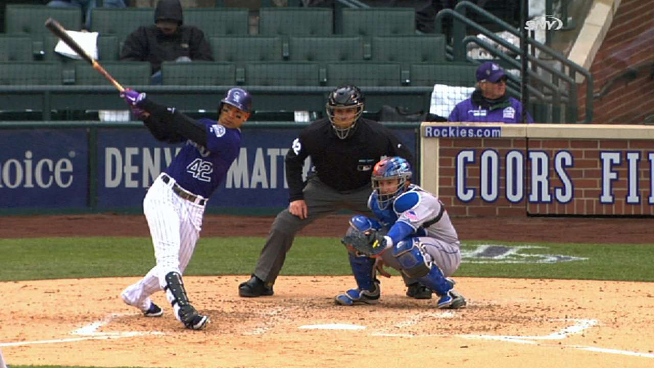 CarGo, Tulo headline Rockies on All-Star ballot