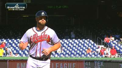 Braves have Gattis to fill void left by McCann