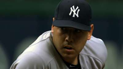 Nuno inspired by brief stint in Yanks rotation