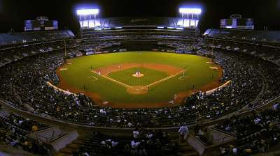 Oakland Coliseum will remain A's home through '15