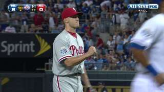 2012 ASG: Papelbon gets Wieters to seal the NL's win