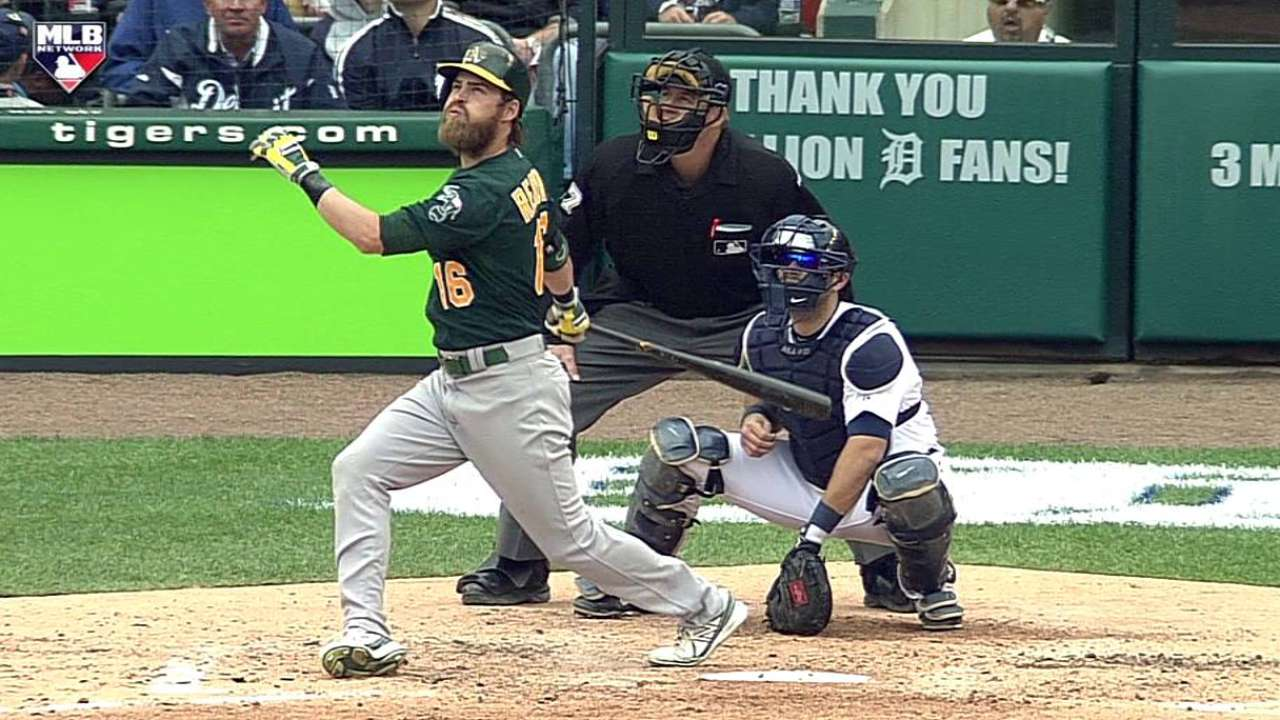 A's close book on arbitration with all but Reddick