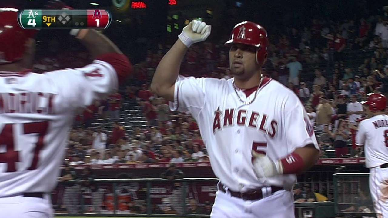 Pujols' 475th career homer
