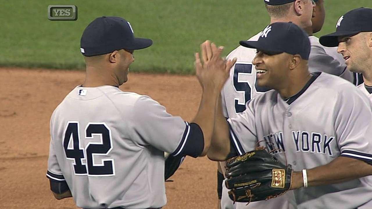 Pettitte, Wells claves en triunfo de Yankees vs. Reales
