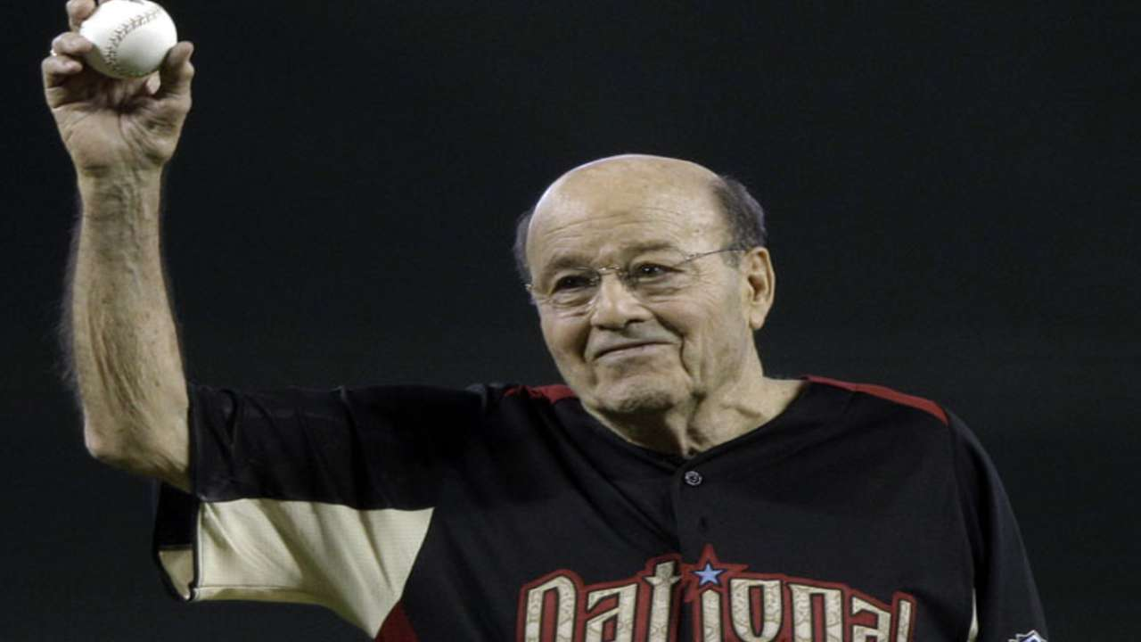 Garagiola unable to make trip to accept O'Neil Award