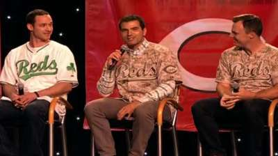At Redsfest, players embrace offseason changes
