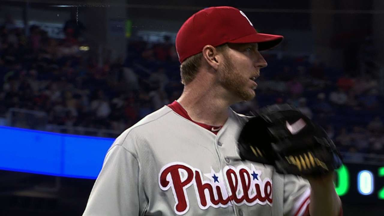 MLB Notebook: Halladay amazing from start