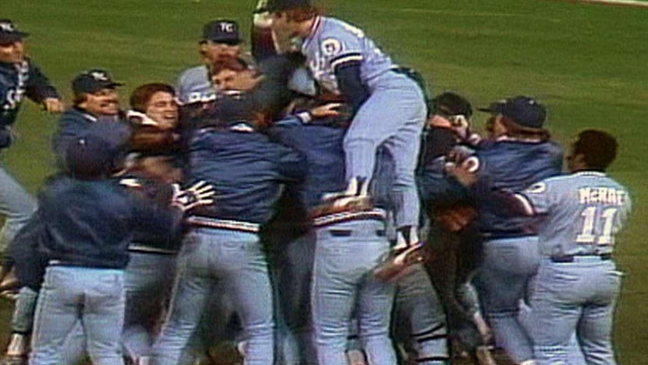Royals win 1985 AL pennant