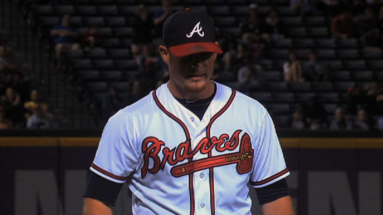 Seven Braves file for salary arbitration