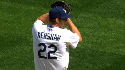 Kershaw wins Starting Pitcher of the Year GIBBY