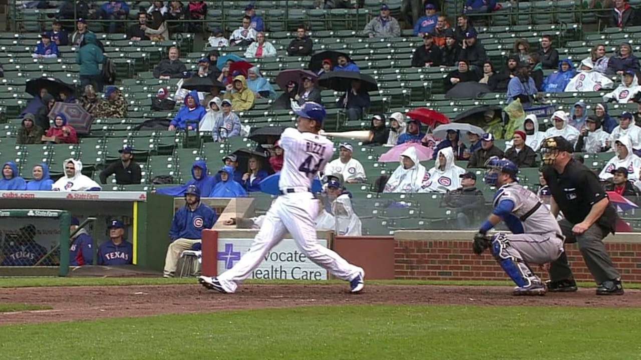 In young season, Rizzo launches longest HR