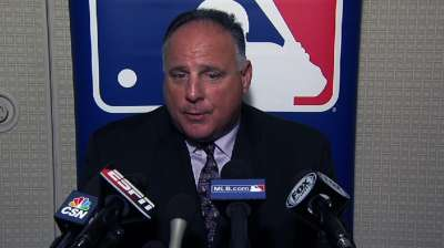 Scioscia places more value in on-field chemistry