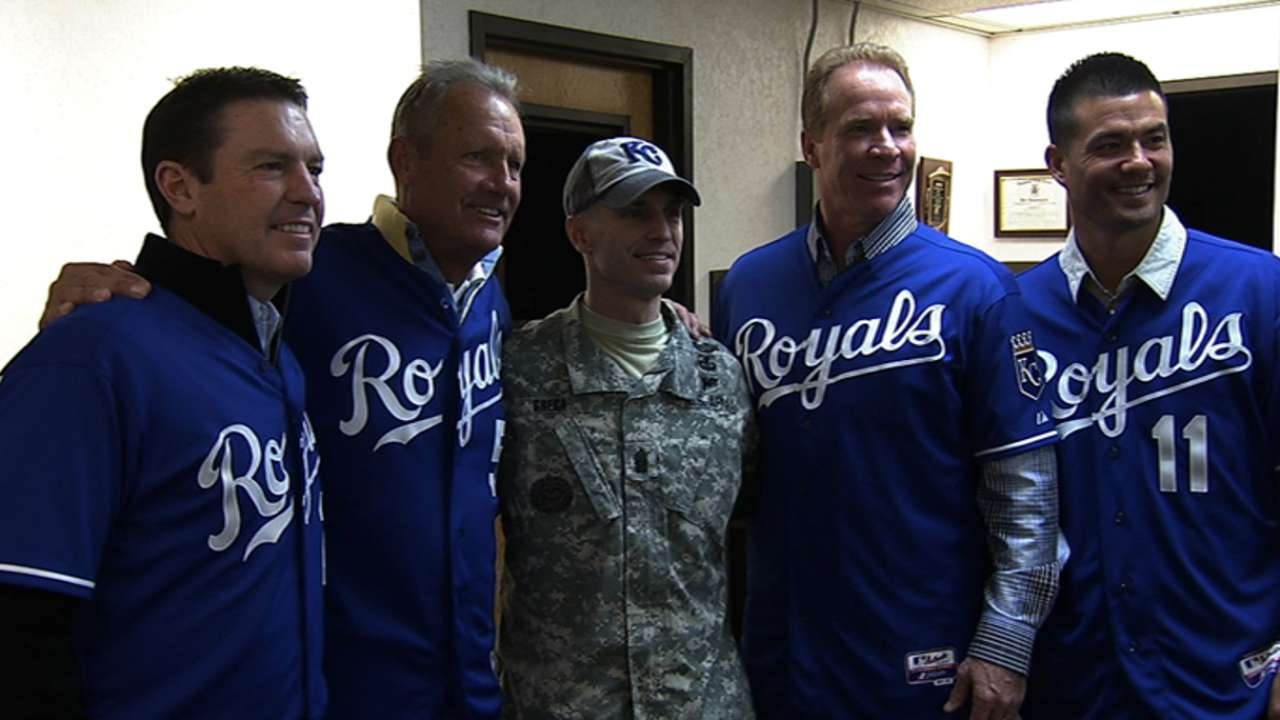 Royals excited for chance to salute military