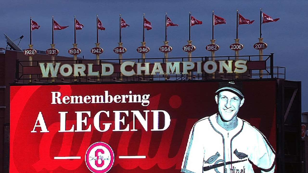 Cards dedicate Friday's game to Stan the Man