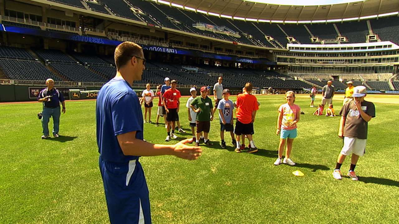 Moore dedicated to furthering youth baseball initiatives